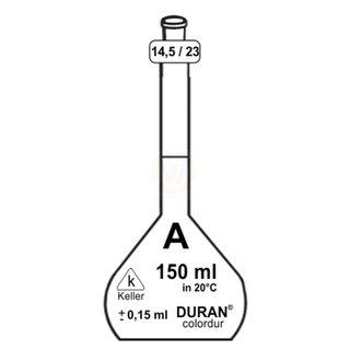 Messkolben DURAN ® | 150 ml | A | NS 14,5/23